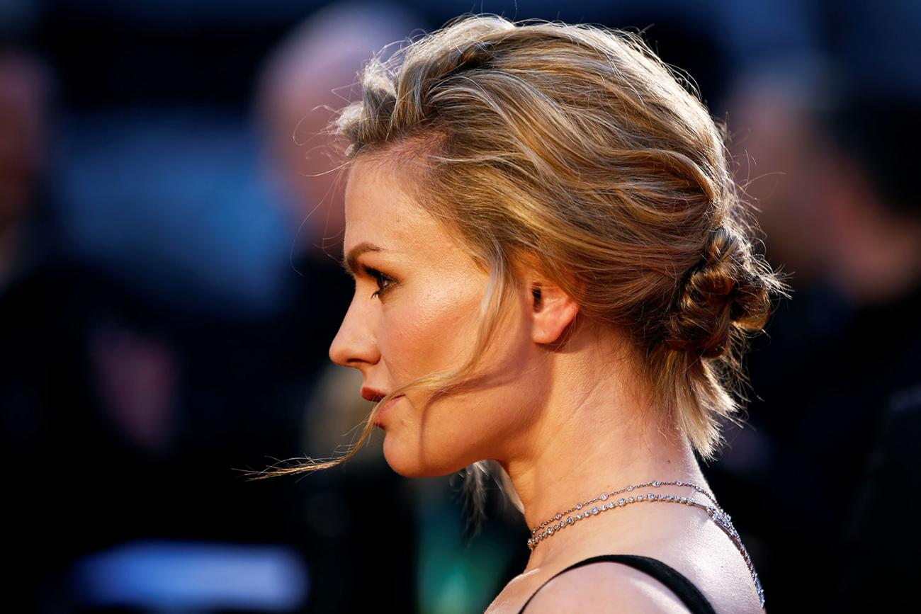 Celebrity photo of Anna Paquin at the premiere of The Irishman in London, 2019