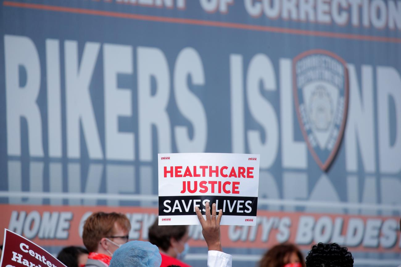 surrounding waterway hasn't protected the men and women detained on New York City's Rikers Island, which has recorded thousands of coronavirus cases, and where disregard for physical distancing measures and failure to distribute masks contributed to the deaths of several inmates, according to a recent watchdog report.